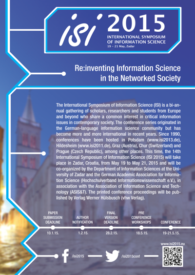 ISI 2015 Flyer