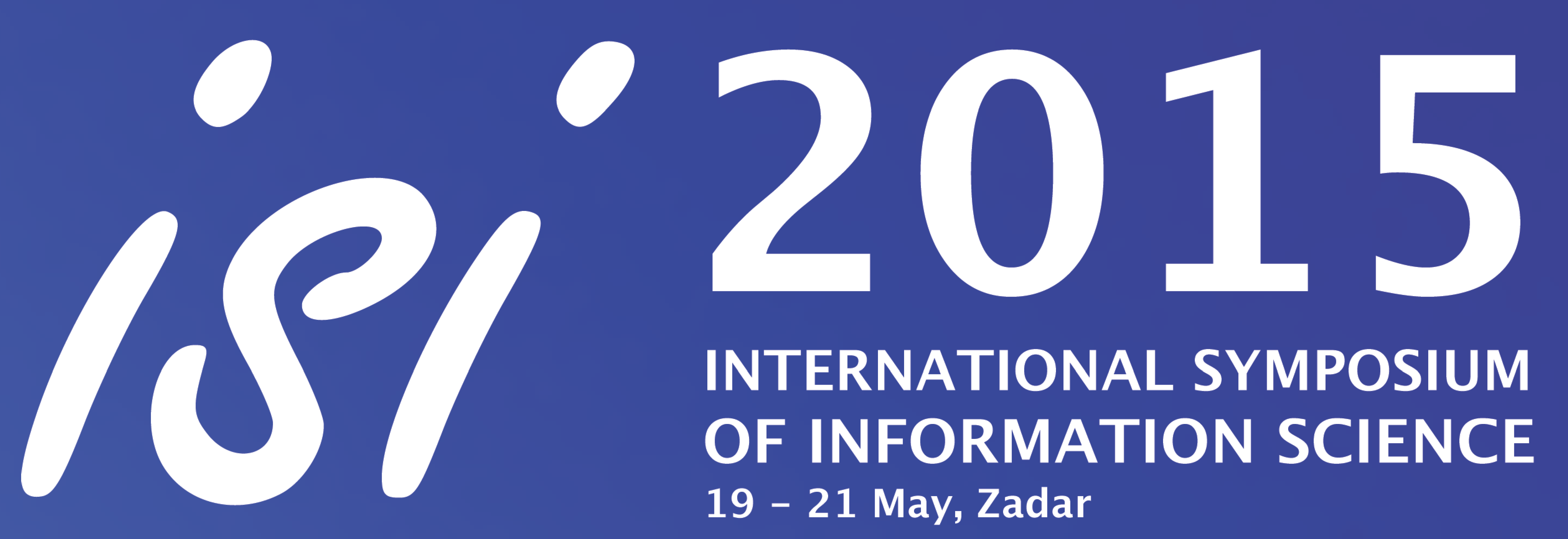 ISI 2015 banner